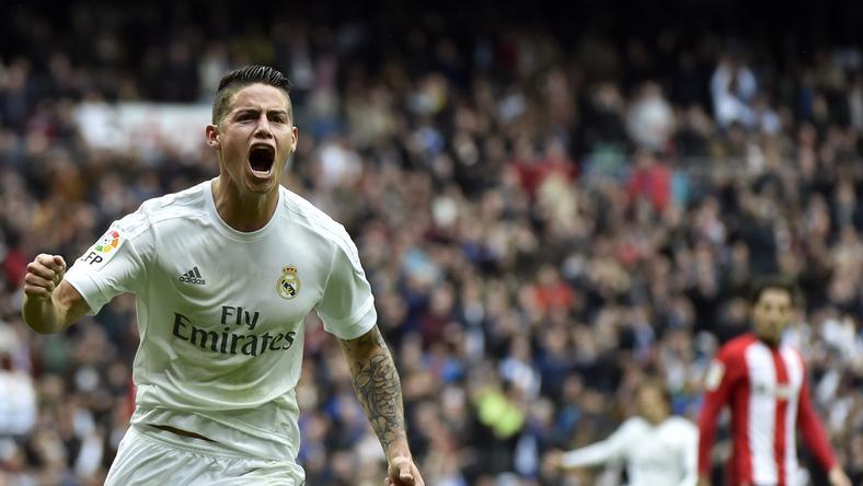 James Rodríguez szerződése kiszivárgott /Fotó: AFP