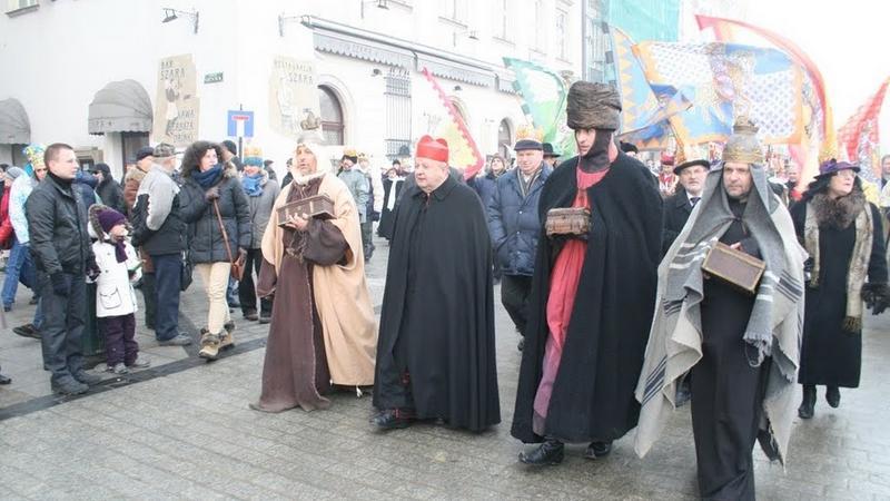 Orszak Trzech Króli w Krakowie, fot. Onet.pl /Jędrzej Trzciński