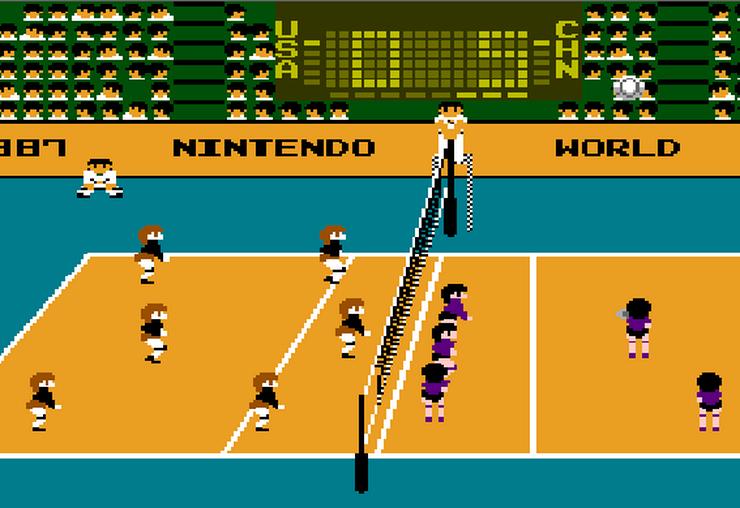 Nintendo Volleyball