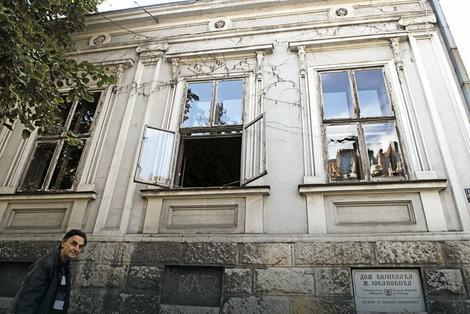 Kuću u Birčaninovoj 24, u kojoj je Jovanović proživeo čitav život, izgradio je njegov otac 1883. godine