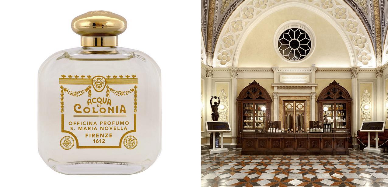 Zapach Classica Aqua di Cologna i miejsce, w którym powstał: L'officina profumo farmacia Santa Maria Novella