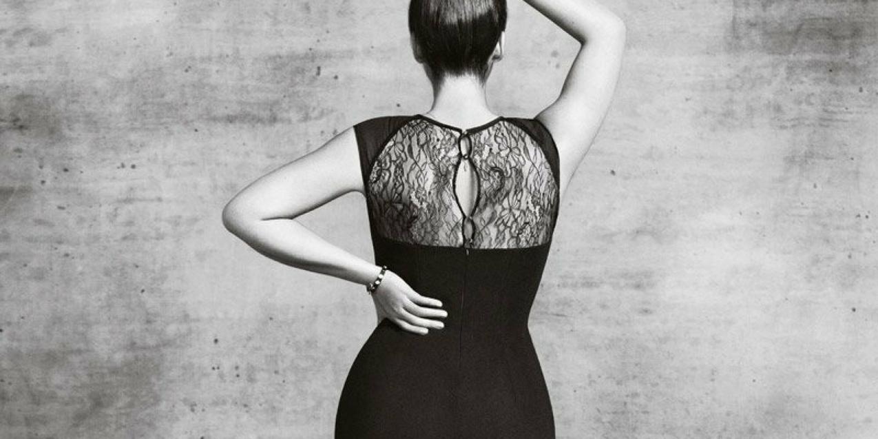 Robyn Lawley w lookbooku linii Violetta by Mango