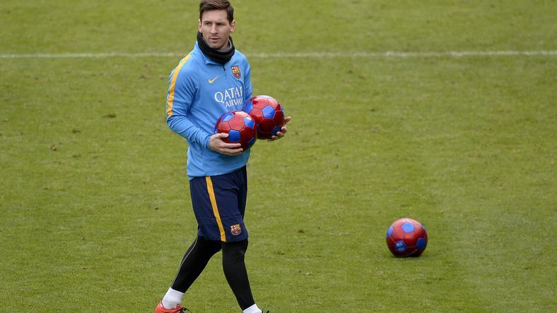 Messi elvarázsolta Erost és edzőjét is / Fotó: AFP