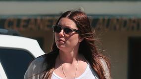 Jessica Biel w zaawanowanej ciąży