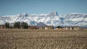 W Afyce Południowej spadł śnieg
