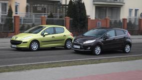 Peugeot 207 kontra Ford Fiesta - ładne, trwałe i w dobrej cenie