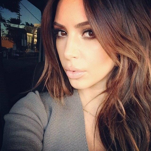 Kim Kardashian i jej nowa - stara fryzura / Bulls Press