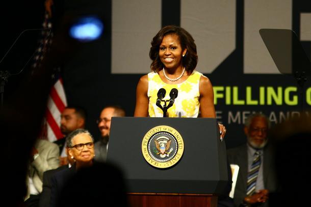 Michelle Obama i nowa fryzura Ameryki