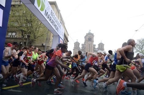 Beogradski maraton: Već se prijavilo više od 3.000 takmičara iz celog sveta