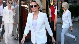 Best Look: Kristen Stewart cała na biało