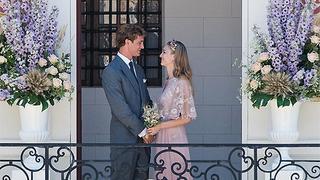 Bajkowy ślub Pierre Casiraghi i Beatrice Borromeo