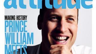 Książę William na okładce gejowskiego magazynu