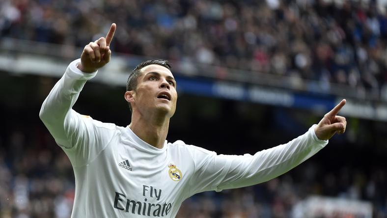Cristiano Ronaldonak van oka az örömre /Fotó: AFP