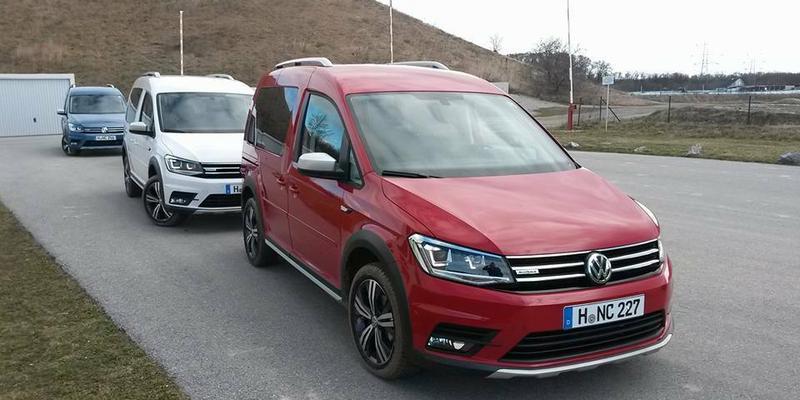 Volkswagen Caddy Alltrack - znamy ceny