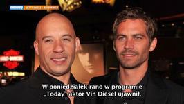 Vin Diesel nazwał córkę na cześć Paula Walkera