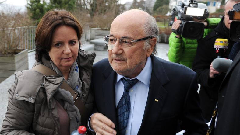 Blatter belebukott a korrupcióba/Fotó: Northfoto