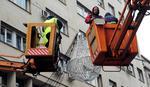 Radnici od sutra skidaju praznično osvetljenje na ulicama grada