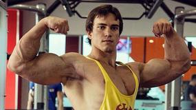 Rosyjski kulturysta młodym klonem Schwarzeneggera
