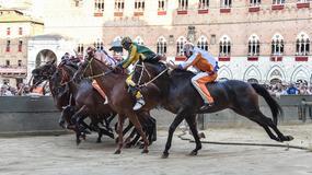 Palio w Sienie - wyścig, którego tradycja sięga XII wieku