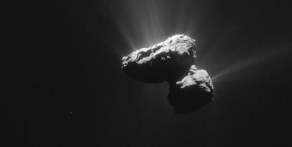 Kometa jak na wyciągnięcie ręki - niezwykłe zdjęcia z lądownika Philae