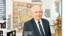 Niemieckie gazety wytykają to Kaczyńskiemu. Poszło o wywiad