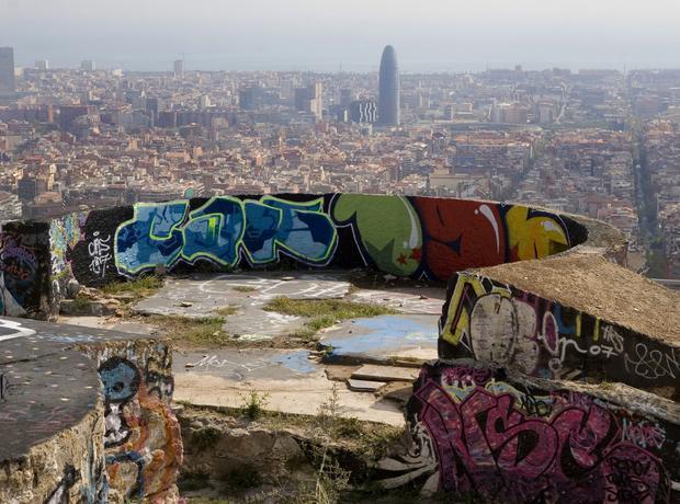 Barcelona, przedmieścia