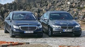 Mercedes klasy E kontra BMW serii 5 - co będzie nową siłą przewodnią?