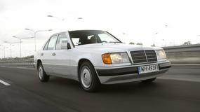 Mercedes W124 200D - spowalniacz czasoprzestrzeni