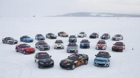 Emocjonujący finisz wyścigu Mazda MX-5 Ice Race
