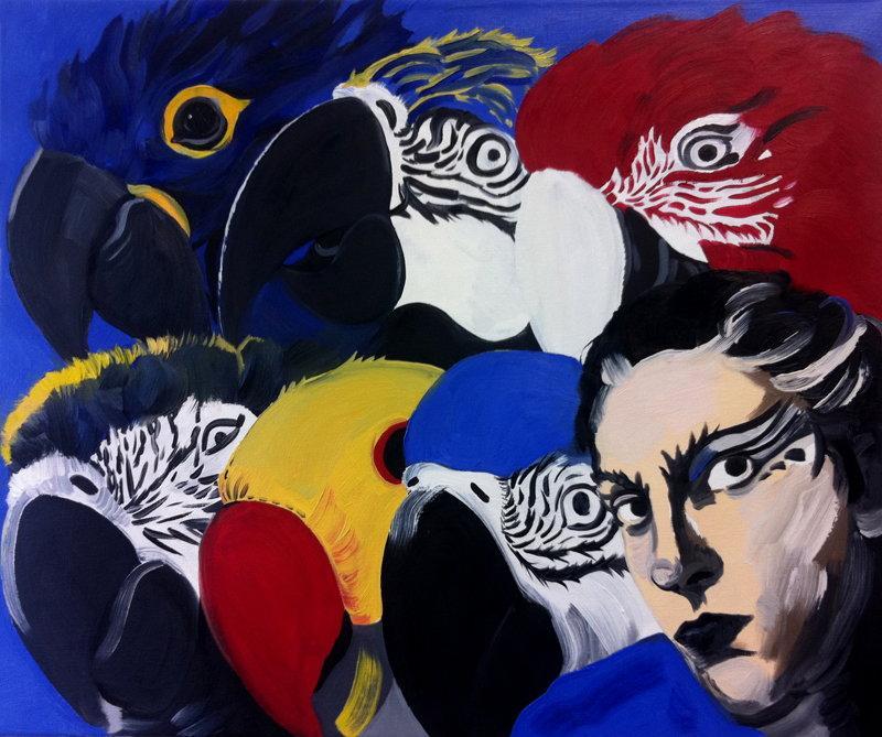 7 papug, Pola Dwurnik, 2011
