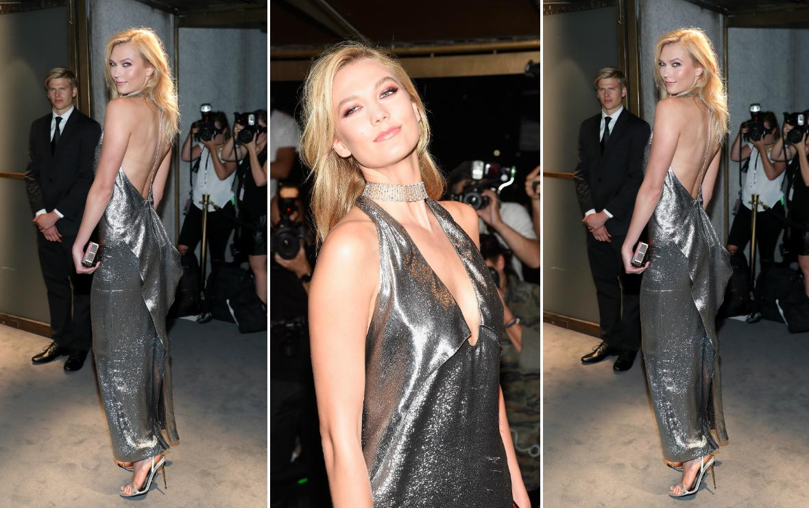 Karlie Kloss w sukience Toma Forda
