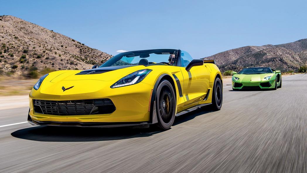 z06 convertible vs lamborghini aventador roadster test top gear. Cars Review. Best American Auto & Cars Review