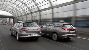 Honda Civic kontra Seat Leon | Test kombi