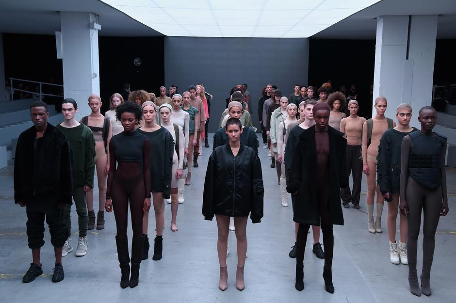 Pokaz Kanye Westa / Getty Images
