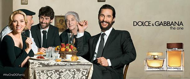 Scarlett Johansson i Mathew McConaughey w kampanii perfum Dolce & Gabbana