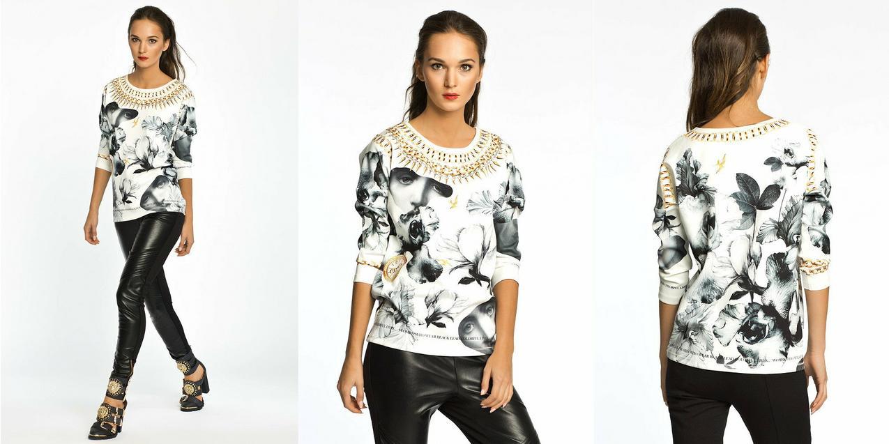 Bluza z kolekcji Patricii Kazadi dla ansear