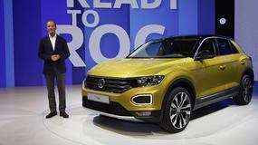 Volkswagen T-Roc - mniejszy od Tiguana