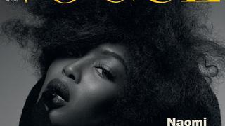 """Naomi Campbell na trzech okładkach brazylijskiego """"Vogue'a"""""""
