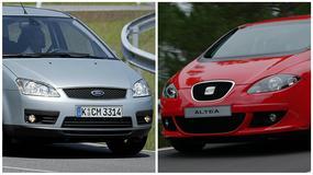 Ford C-Max I vs. Seat Altea - funkcjonalność czy sportowy charakter?