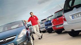 Fiat Grande Punto, Hyundai Getz, Toyota Yaris, Opel Corsa, Vw Polo, Renault Clio - Nowy wśród mieszczuchów