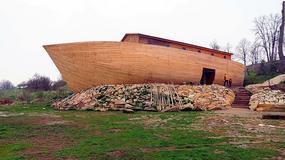 """Pławna - Arka Noego """"czeka na potop"""" niedaleko Lwówka Śląskiego"""