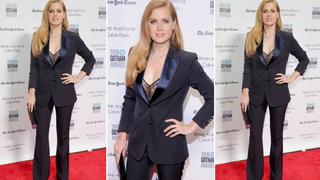 Best Look: Amy Adams w garniturze Max Mara