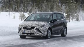 Nowy Opel Zafira przyłapany podczas testów