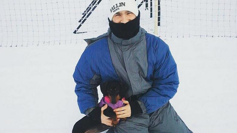 Lázár Bence a szabadba is kimehet már /Fotó: Instagram