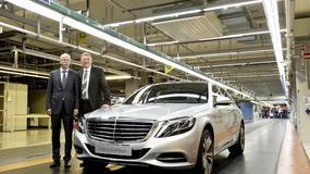 Nowy Mercedes Klasy S już w produkcji