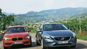 Volvo V40 kontra BMW serii 1: porównanie luksusowych kompaktów