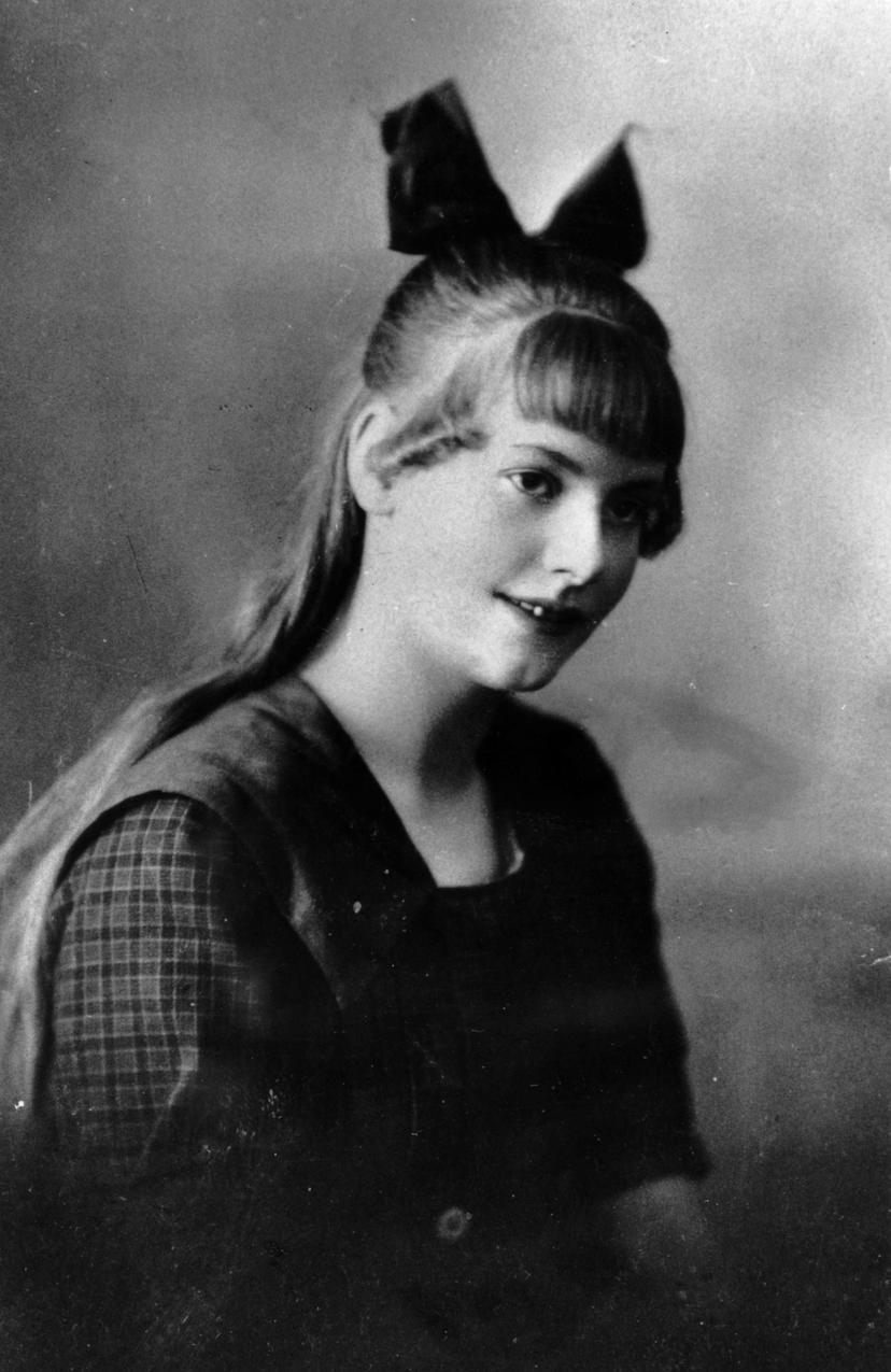 Greta Garbo w 1918 roku