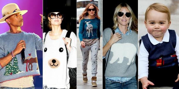 Pogoda na kolorowy sweterek: Gwiazdy uwielbiają sweterki!