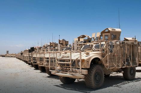 Vozila vojske SAD u Avganistanu