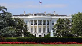 Dron na trawniku Białego Domu